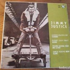 Discos de vinilo: JIMMY JUSTICE ********* RARO EP ESPAÑOL PYE 1964. Lote 245126895