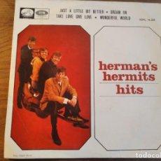 Discos de vinilo: HERMAN'S HERMITS - HITS ********* RARO EP ESPAÑOL 1965. Lote 245127140