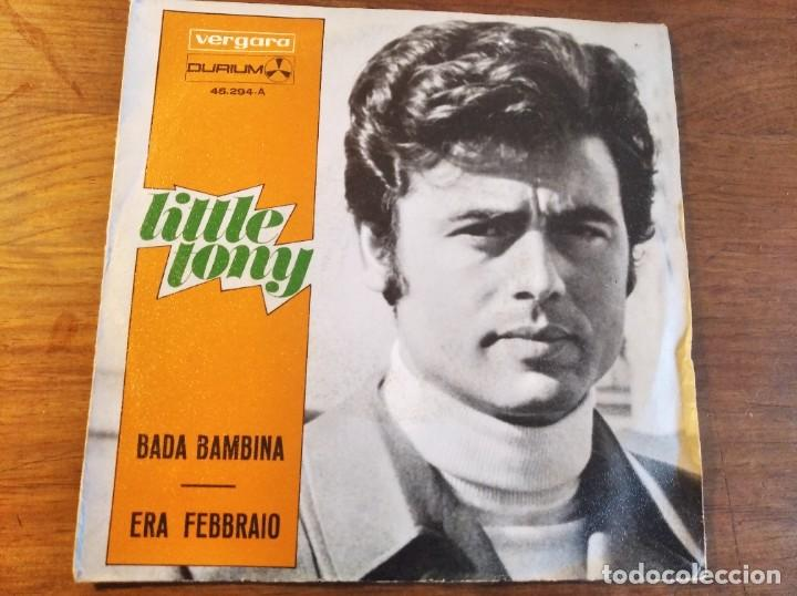 Discos de vinilo: LITTLE TONY - Bada bambina ********* RARO SINGLE ESPAÑOL 1969 - Foto 1 - 245128215