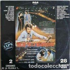 Discos de vinilo: SOLOS EN LA MADRUGADA BSO 2 LP RCA 1978 VINILO. Lote 245128220