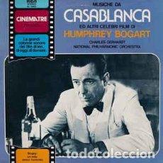 Discos de vinilo: CHARLES GERHARDT / NATIONAL PHILHARMONIC ORCHESTRA – MUSICHE DA CASABLANCA ED ALTRI VINILO. Lote 245128450