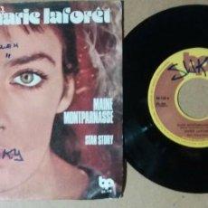 Discos de vinilo: MARIE LAFORET / MAINE MONTPARNASSE / SINGLE 7 PULGADAS. Lote 245136685