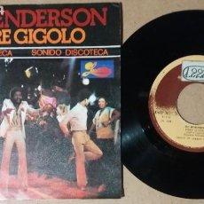 Discos de vinilo: VIC HENDERSON / POBRE GIGOLO / SINGLE 7 PULGADAS. Lote 245136735
