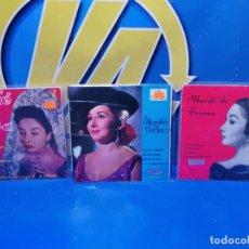 Discos de vinilo: LOTE 3 EPS 7´´ VINILOS SINGLES LOTE DE 3 -MARIFE DE TRIANA DESCATALOGADOS. Lote 245138715