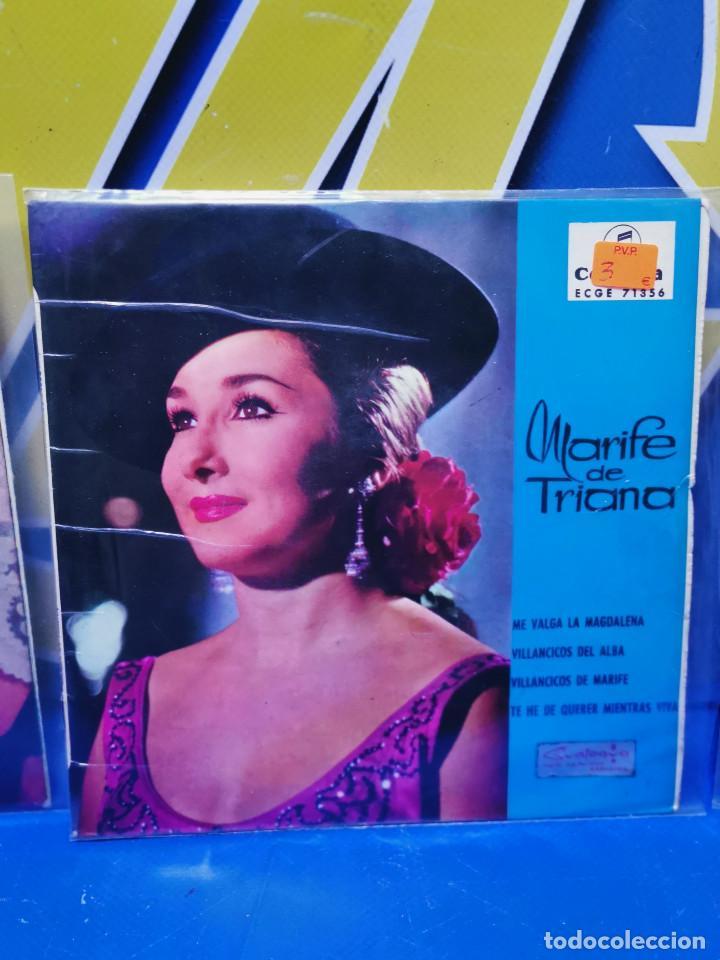 Discos de vinilo: Lote 3 eps 7´´ Vinilos singles LOTE DE 3 -MARIFE DE TRIANA descatalogados - Foto 3 - 245138715