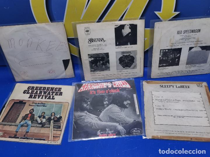 Discos de vinilo: Lote 6 eps 7´´ Vinilos singles MONKEES-SANTANA-CREEDENCE CLEARWATER REVIVAL-SPEEDWAGON - Foto 7 - 245138760