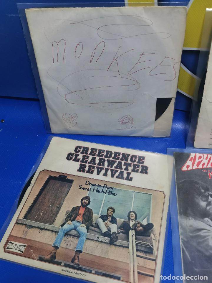Discos de vinilo: Lote 6 eps 7´´ Vinilos singles MONKEES-SANTANA-CREEDENCE CLEARWATER REVIVAL-SPEEDWAGON - Foto 8 - 245138760