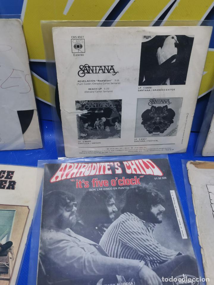 Discos de vinilo: Lote 6 eps 7´´ Vinilos singles MONKEES-SANTANA-CREEDENCE CLEARWATER REVIVAL-SPEEDWAGON - Foto 9 - 245138760