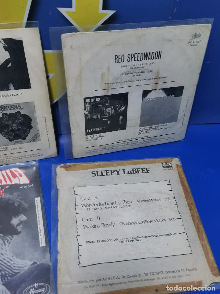 Discos de vinilo: Lote 6 eps 7´´ Vinilos singles MONKEES-SANTANA-CREEDENCE CLEARWATER REVIVAL-SPEEDWAGON - Foto 10 - 245138760