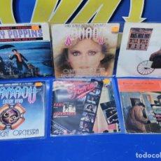 Discos de vinilo: LOTE 6 EPS 7´´ VINILOS B.S.O -XANADU-FAME-MARY POPPINS-EL PUENTE SOBRE EL RIO KWAI. Lote 245138790