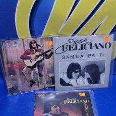 Discos de vinilo: LOTE 3 EPS 7´´ VINILOS -JOSE FELICIANO - DESCATALOGADOS-BUEN ESTADO. Lote 245138875