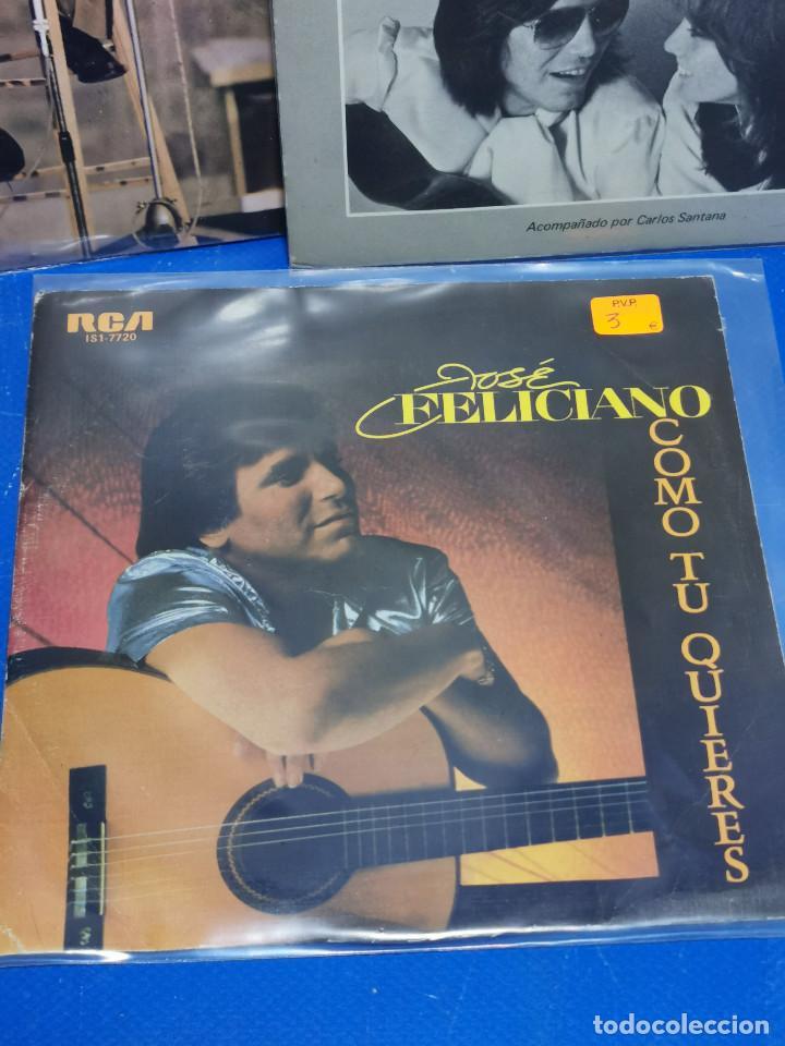 Discos de vinilo: Lote 3 eps 7´´ Vinilos -JOSE FELICIANO - descatalogados-buen estado - Foto 2 - 245138875
