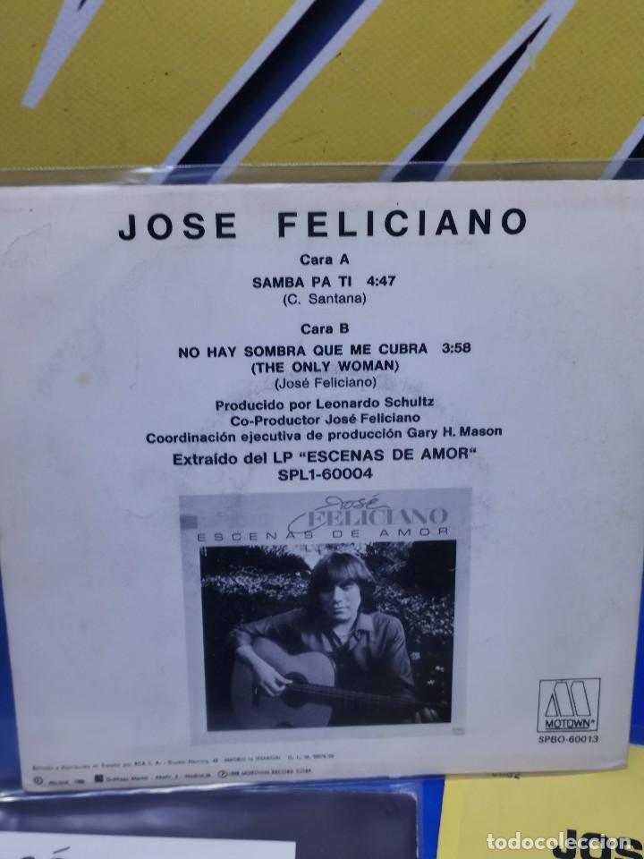 Discos de vinilo: Lote 3 eps 7´´ Vinilos -JOSE FELICIANO - descatalogados-buen estado - Foto 5 - 245138875