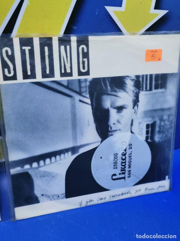 Discos de vinilo: Lote 2 eps 7´´ Vinilos -STING - descatalogados-buen estado - Foto 3 - 245139040