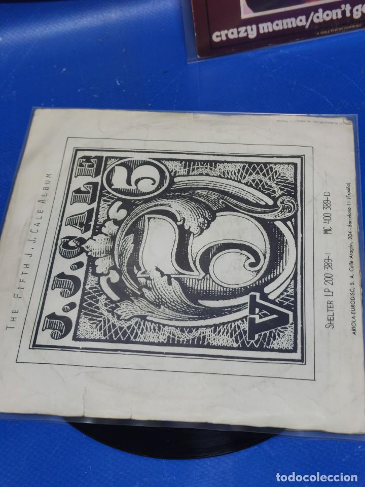 Discos de vinilo: Lote 2 eps 7´´ Vinilos -J.J CALE -CRAZY MAMMA-FRIDAY-DONT GO TO STRANGERS - Foto 5 - 245140270