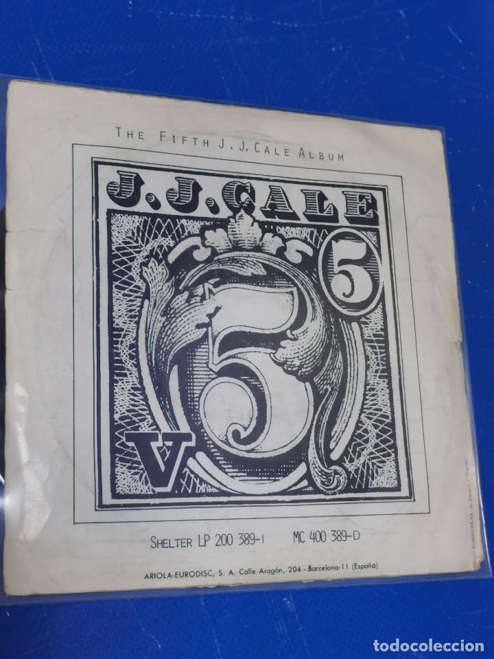 Discos de vinilo: Lote 2 eps 7´´ Vinilos -J.J CALE -CRAZY MAMMA-FRIDAY-DONT GO TO STRANGERS - Foto 6 - 245140270