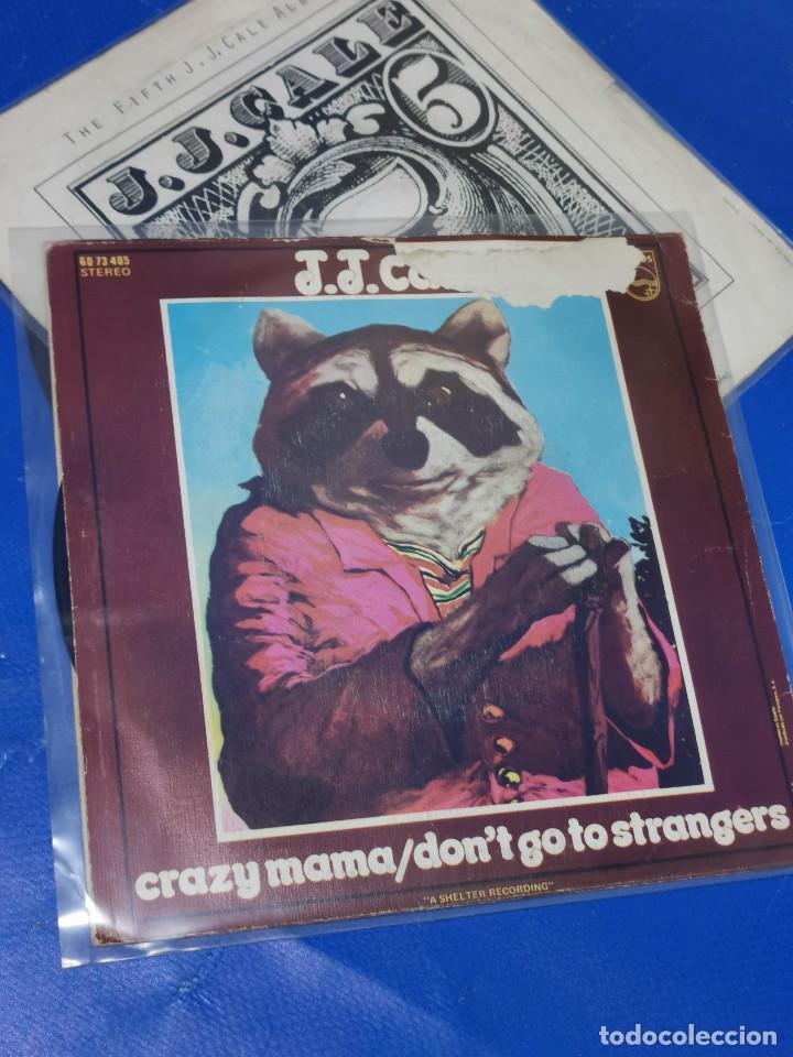 Discos de vinilo: Lote 2 eps 7´´ Vinilos -J.J CALE -CRAZY MAMMA-FRIDAY-DONT GO TO STRANGERS - Foto 7 - 245140270