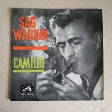 Discos de vinilo: CAMIL·LO - SAG WARUM. Lote 245168260