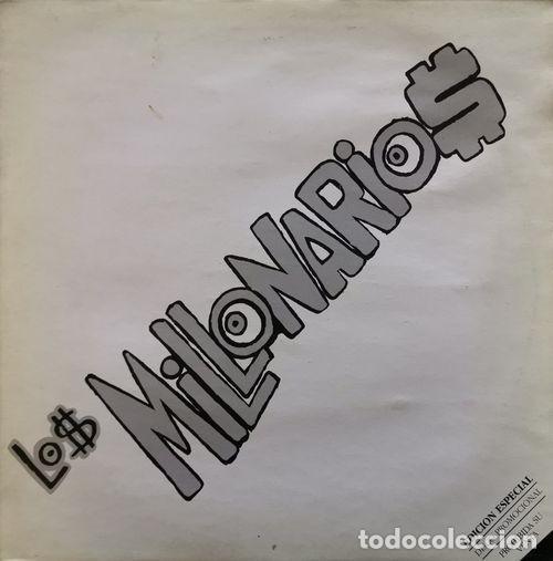 LOS MILLONARIOS - MIAMI / LA RODILLA / MUÑEKAS DE VALLEKAS / SOGUETO - MAXI SINGLE PROMOCIONAL (Música - Discos de Vinilo - Maxi Singles - Grupos Españoles de los 70 y 80)