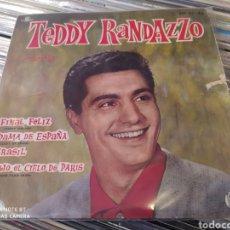 Discos de vinilo: TEDDY RANDAZZO–CANTA. EP EDICIÓN SPAIN 1961.. Lote 245183560
