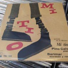 Discos de vinilo: PINO CALVI-BARIMAR –MIO ZIO (MOTIVI DAL FILM) EP EDICIÓN SPAIN 1959. Lote 245187400