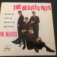 Discos de vinilo: EP THE BEATLES /SHE LOVES YOU/ I'LL GET YOU/FROM ME TO YOU/ THANK YOU GIRL REF DSOE 16561 EMI SPAIN. Lote 245188825