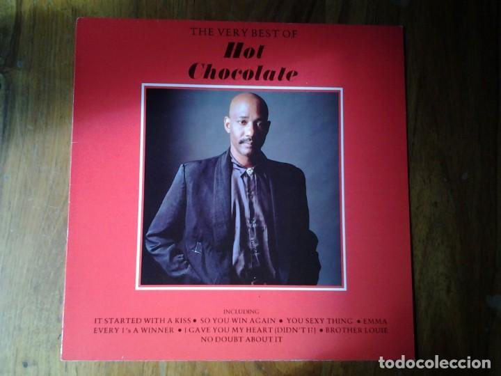 HOT CHOCOLATE -THE VERY BEST OF - LP EMI 1987 064-26 1198 1 ED. EUROPEA MUY BUENAS CONDICIONES. (Música - Discos - LP Vinilo - Jazz, Jazz-Rock, Blues y R&B)