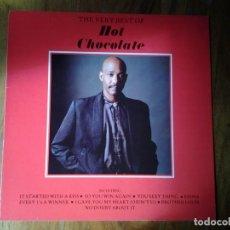 Discos de vinilo: HOT CHOCOLATE -THE VERY BEST OF - LP EMI 1987 064-26 1198 1 ED. EUROPEA MUY BUENAS CONDICIONES.. Lote 245194920