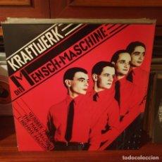 Discos de vinilo: KRAFTWERK / DIE MENSCH MACHINE / NOT ON LABEL. Lote 245196795