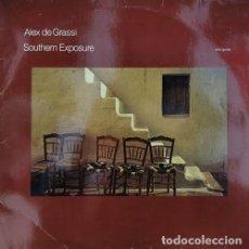 Discos de vinilo: ALEX DE GRASSI - SOUTHERN EXPOSURE - SOLO GUITAR - LP DE VINILO NEW AGE AMBIENT. Lote 245197520