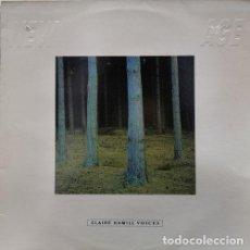 Discos de vinilo: CLAIRE HAMMILL - VOICES - LP DE VINILO NEW AGE ABSTRACT EXPERIMENTAL. Lote 245200110
