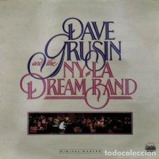 Discos de vinilo: DAVE GRUSIN & THE N.Y. - L..A BAND - LP DE VINILO LEE RITENOUR ERIC GALE TIGER OKOSHI DON GRUSIN ETC. Lote 245201790