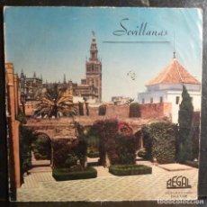 Discos de vinilo: SEVILLANAS // EMMA MALERAS /LOS SEVILLANOS/NIÑA DE LOS PEINES/10 PULGADAS//(G G). Lote 245203435