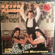 Discos de vinilo: LOS MACARENOS // CUADRO FLAMENCO // 1962 // (VG VG). LP. Lote 245203800