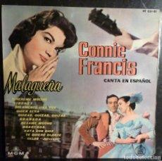 Discos de vinilo: CONNIE FRANCIS // CANTA EN ESPAÑOL // 1960 //(VG VG). LP. Lote 245207290