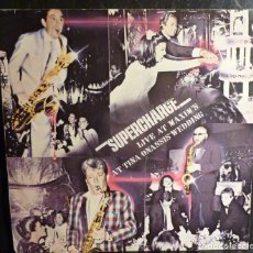 Discos de vinilo: SUPERCHARGE // GROOVERS IN PARIS//1984 // SWITRARLAND//(VG VG). LP. Lote 245208380