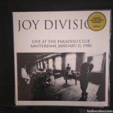 Discos de vinilo: JOY DIVISION LIVE AT THE PARADISO CLUB ED LIMITADA. Lote 245213610