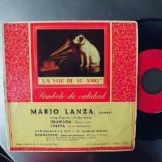 Discos de vinilo: MARIO LANZA-EP GRANADA +3. Lote 245218785