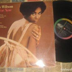 Discos de vinilo: NANCY WILSON JUST FOR NOW (CAPITOL-1967) ORIGINAL FRANCIA LEA DESCRIPCION. Lote 245220220