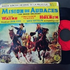 Discos de vinilo: MISION DE AUDACES-EP BSO DEL FILM. Lote 245220445