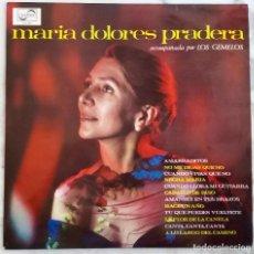 Discos de vinilo: MARIA DOLORES PRADERA ACOMPAÑADA POR LOS GEMELOS. AMARRADITOS.NO ME DIGAS QUE NO.LP ESPAÑA 1966. Lote 245225620