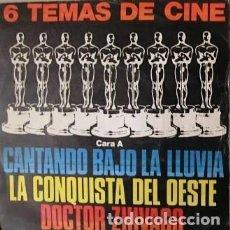 Discos de vinilo: 6 TEMAS DE CINE. POLYDOR. 1980.. Lote 245227115