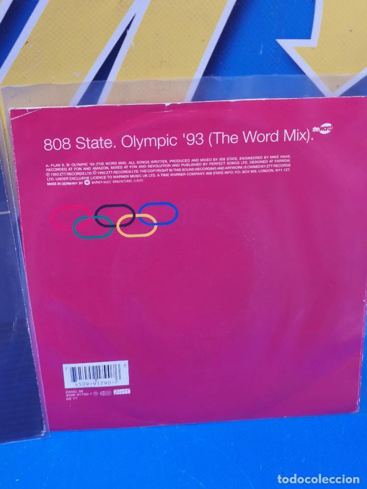 Discos de vinilo: Lote 2 eps 7´´ Vinilos singles 808state buen estado - Foto 3 - 245227140