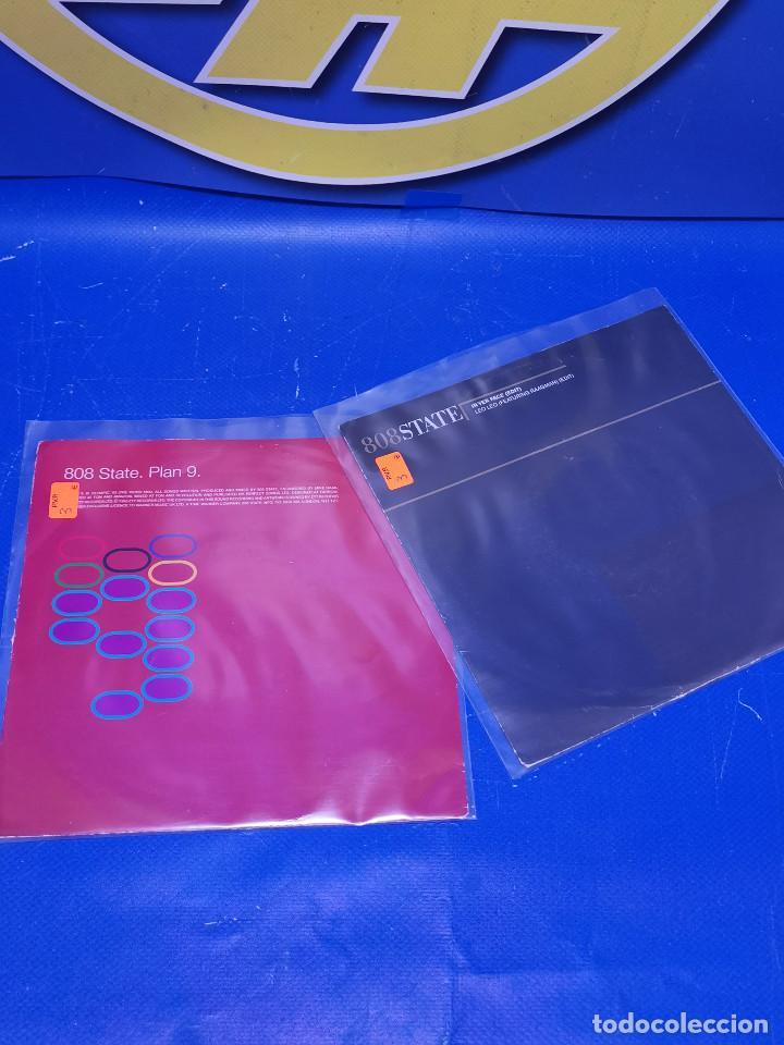 Discos de vinilo: Lote 2 eps 7´´ Vinilos singles 808state buen estado - Foto 6 - 245227140