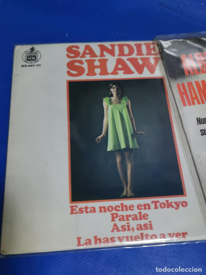Discos de vinilo: Lote 7 eps 7´´ -años 70-SALOME-TEN YEARS AFTER-A.HAMMOND-S.SHAW-JOE DASSIN y mas - Foto 2 - 245227665