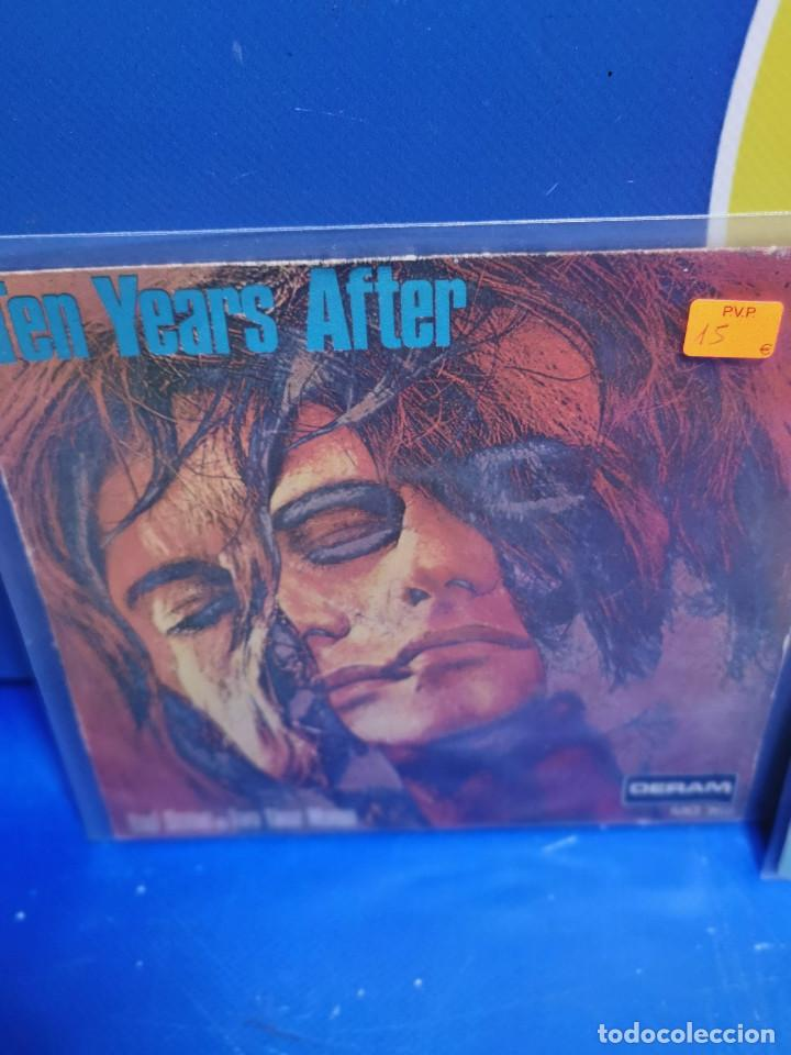 Discos de vinilo: Lote 7 eps 7´´ -años 70-SALOME-TEN YEARS AFTER-A.HAMMOND-S.SHAW-JOE DASSIN y mas - Foto 4 - 245227665