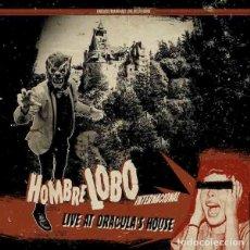 """Discos de vinilo: HOMBRE LOBO INTERNACIONAL LIVE AT DRACULA'S HOUSE (10"""") . VINILO GARAGE ROCK. Lote 245230870"""