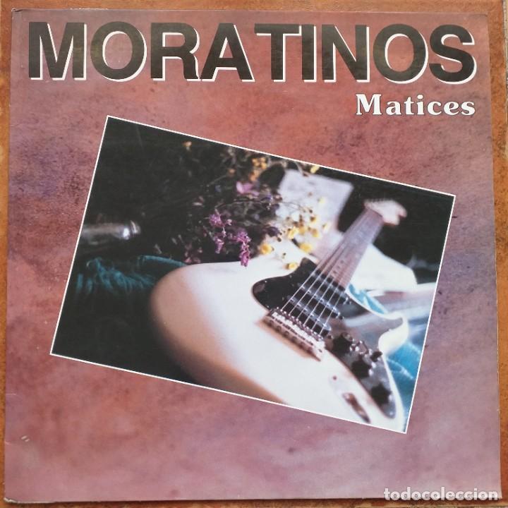 MORATINOS - MATICES (LP) CON AUTOGRAFO !!!!! (Música - Discos - LP Vinilo - Grupos Españoles de los 90 a la actualidad)