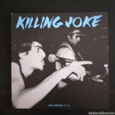 Discos de vinilo: KILLING JOKE PEEL SESSIONS LP. NO OFICIAL. Lote 245233180