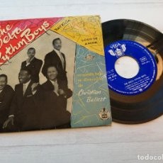 Discos de vinilo: THE DELTA RYTHM BOYS* ‎– THE DELTA RYTHM BOYS EP SPAIN VINILO F/PORTADA EX. Lote 245233725